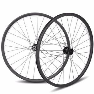 29er карбон асимметричный mtb wheelset 33 ширина карбоновые диски 15 * 100 12 * 142 Sram 11