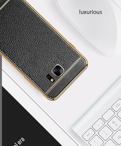 Плакировкой чехол для samsung s7Edge мягкие TPU кожа текстуры мобильный защитный чехол антидетонационных ультратонкий чехол для S7Edge