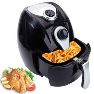 Electric Air Fryer w / Temperature Control, Abnehmbarer Korb Tragegriff