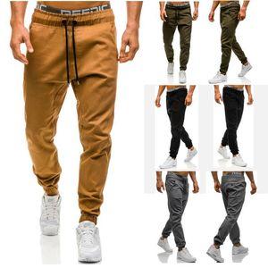 Erkekler Joggers 2019 Yeni Rahat Pantolon Erkekler Marka Giyim Yüksek kalite Bahar Uzun Haki Pantolon Elastik Erkek Pantolon Erkek Joggers 3XL
