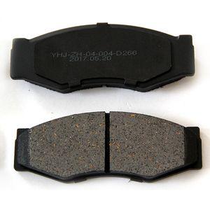 4pcs lot Auto Parts Semimetallic non asbestos material automobile Brake Pads Disc brake lining NO.3