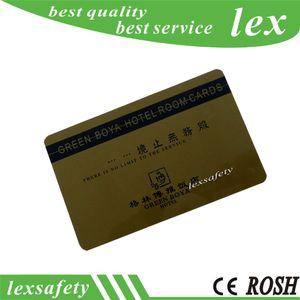 Les fabricants de carte à puce RFID font 125HZ ISO11785 TK4100 sans contact en plastique pvc carte à puce intelligente
