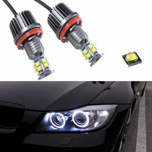 120W Canbus Error Free H8 Angel Eyes Marker with CREE LED Chips XTE 4800LM White For BMW F01 F02 F03 F04