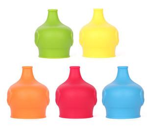 Симпатичные силиконовые анти-пыль стеклянная чашка крышка кофе кружка всасывания печать крышка слон влагозащищенная крышка чашки для малыша малыша высокое качество