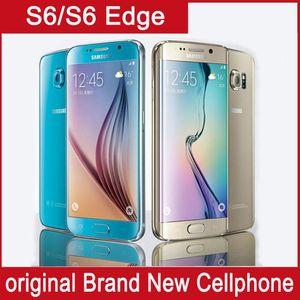 Original Samsung Galaxy S6 Borda + / s6 borda Octa Núcleo 3 GB RAM 32 GB ROM LTE 16MP 5.1 Desbloquear telefone recondicionado