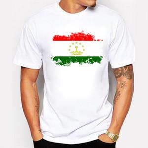 Tadschikistan Sommer T Shirt Diy Kostenlose Nach Maß Name Nummer Männer T-shirt Tadschikistan Nationalflagge Land Kleidung