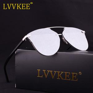 Новый lvvkee бренд Кошачий глаз зеркало знаменитости солнцезащитные очки женщины или мужчины суперзвезда Rihanna солнцезащитные очки лето женщина D стиль UV400