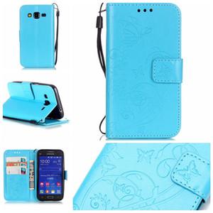 Für Samsung Galaxy A3 (2015) A300F Fall Luxus PU Leder Brieftasche Shockproof Fall Flip Bracket Cover mit Kleinpaket