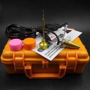 2016 Новое поступление E Digital Nail Kit с обновлением Титан / Кварц Золото Гибридный Nail Fit плоский 10 мм / 16 мм / 20 мм катушка нагревателя Сушеные Травяные