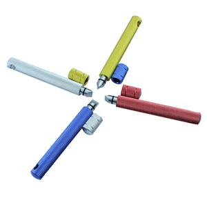 Golf Temizleme Bıçağı Açık Spor Golf Temizle Kalem Paslanmaz Çelik Kesici Kafa Yetişkin Güçlü Kırmızı Mavi Sıcak Satış 12cxC1