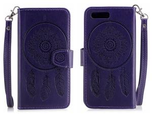 Per OnePlus 5 OnePlus5 One Plus 5 Custodia Flip Cover Luxury Dreamcatcher in pelle in rilievo Custodie per telefoni cellulari per OnePlus 5 Cover