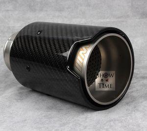 Подходит для BMW 1/2/3 серии M M2 / M4 / M3 F87/F80/F82 / F производительности углеродного волокна углеродного волокна наконечник выхлопной трубы глушитель для BMW