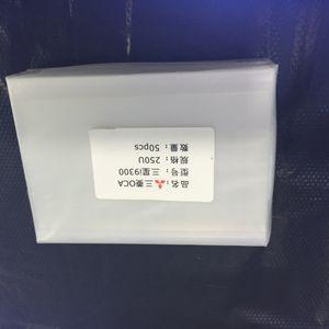 Оригинальный OCA оптический прозрачный клейкая пленка двойной стороне наклейки клей для Samsung S3 S4 S5 прозрачный клей стикер OCA сухой клей OCA пленка адгезии