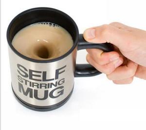 Auto-agitation Café Tasse Automatique Mélange café Tasse à thé tasse en acier inoxydable Tasse Tasse à boire Tasse à café