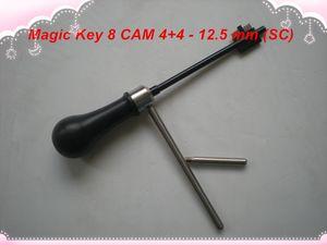 2019 ENVÍO GRATIS ALTA CALIDAD NUEVO PRODUCTO Magic Key 08 para CAM 4 + 4, Boda-428, Abloy- 12.5mm (SC) decodificador de llave maestra herramientas de cerrajería