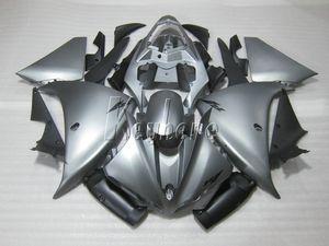 Kit carene iniezione per Yamaha YZF R1 09 10 11 12 13 14 carene argento set YZFR1 2009-2014 OR02