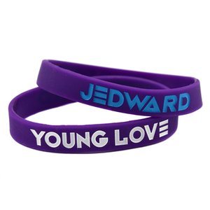 1PC Jedward - Young Love Силикон браслет для меломанов Wear Thist ювелирных изделий на их поддержать