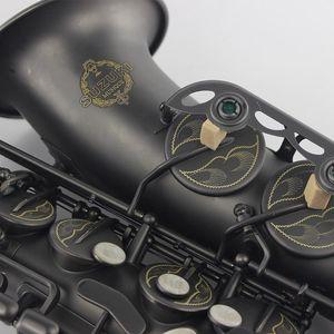 Nichel Free Shipping SUZUKI Alto Saxophone bemolle nero opaco placcato Strumenti Musicali professionale Sassofono per gli studenti