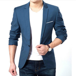 Autumn Clothes Men Suit Jacket Casaco Terno Masculino Blazer Cardigan Jaqueta Wedding Suits Jackets