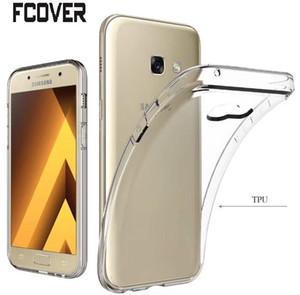 Прозрачный Crystal Clear Мягкий чехол для Samsung Galaxy A3 2017 / A5 2017 / A7 2017 Case TPU кожа геля задней обложки Galaxy Xcover 4 Case