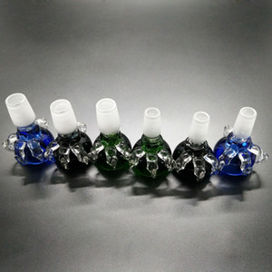 Горячие продажи продуктов 1 шт. толщиной dragon claw мужской сустав стеклянная чаша для стекла бонги водопроводные трубы 14 мм 18 мм совместное курение