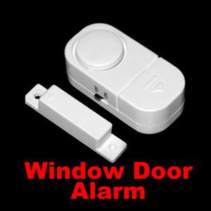 100 pcs Novo Sensor de Movimento Sem Fio Detector de Alarme de Segurança Da Porta Da Porta Janela de Segurança Livre DHL FEDEX transporte 0001