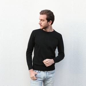 Großhandel 2017 neue meistverkaufte high-end casual fashion rundhals männer polo pullover marke 100% baumwolle pullover männer pullover kostenloser versand