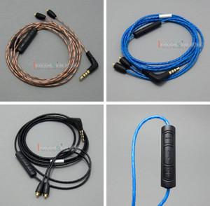 Con Mic Remote Volume Earphone Cable per Shure se215 se315 se425 se535 Se846