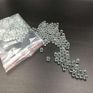200 قطع لكل كيس 6 7 8 9 10 ملليمتر اضافية الهيالين زجاج bb الرصاص الكرة دائرية الكريات الجسيمات الصيد اكسسوارات مقلاع رصاصة كرات الزجاج