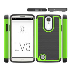 Для LG Aristo LV3 MS210 Caseology Защитная броня Чехол для мобильного телефона Силиконовый Tpu Pc Антидетонационные Задняя крышка Чехлы