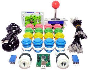 Hot-selling 2 Player Arcade machine USB Arcade Control Kit - 2 Ball Top Joysticks, 18 Buttons & Encoder -MAME