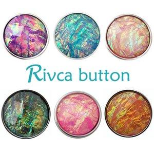 Atacado-D02131 Hot Atacado Nashion Snap Button PulseiraBangles Charme Resina Snap Botão Pulseira Para Mulheres Rivca snap Button jóias