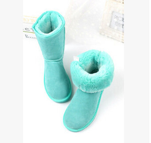 Nouvelle haute qualité U Femmes Classic Half bottes Boot Femmes Boot bottes de neige bottes d'hiver bottes en cuir Chaussures États-Unis TAILLE 5 à -10