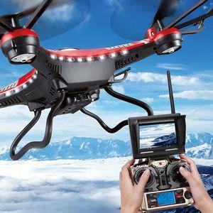 JJRC H8D 2.4Ghz 5.8G FPV RC Quadcopter Drone con fotocamera da 2 MP FPV Monitor Display RTF RC helicopter Modalità headless One Key Return