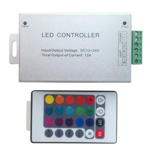 10 PC DC12V-24V 3 Canal 4A cada canal 12A 24A RF LED Controle Remoto 20 Chave RGB Sem Fio Levou MINI Controlador para Módulo de Tira Da Corda