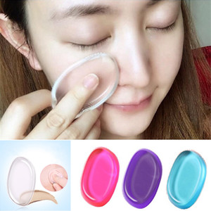 Hot Cosmetic Silicone Sponge Blender Quick Clean Soft Maquillage Eponges Puff Flawless Facial Outils de maquillage