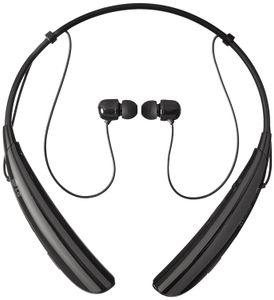 Для LG Electronics HBS-750 Bluetooth для беспроводной стереогарнитуры - Розничная упаковка - черный
