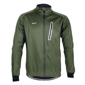 열 양털 통기성 남자 사이클링 저지 긴팔 티셔츠 로파 Ciclismo MTB 자전거 의류 자전거 톱 의류