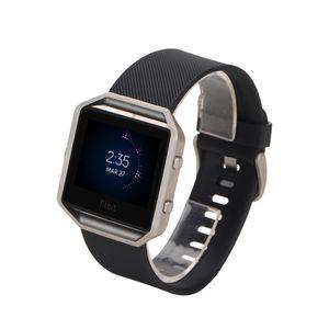 Fitbit Blaze Smart Watch 11color DHL 배송을위한 새로운 팔찌 연질 실리콘 스포츠 교체 시계 밴드 밴드 손목띠