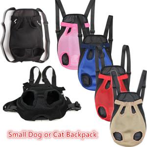 Зоотовары собака перевозчик маленькая собака и кошка рюкзаки открытый путешествия собака сумки 6 цветов бесплатная доставка