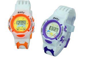 Envío gratis Nueva niños tamaño slap reloj multicolor niños cuarzo reloj de regalo novela de moda relojes DHL UPS TNT FedEx envío gratis