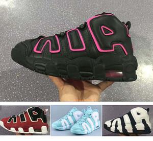 2018 daha fazla UpTempos GS Lady Kadınlar Basketbol Ayakkabıları Otantik Spor Sneakers