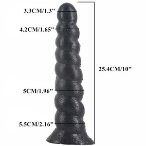 FAAK 25.4cm 10in Long Anal Dildo Silicone Anal Plug Big Penis Butt Bead Sex Toy Gay Pussy Anus Sex Product Men Women Erotic