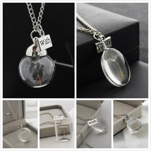 Real Dandelion Seed in a Wish teardrop Jewellery Silver Necklace pendant Make a Wish Necklace Glass Dome Dandelion Flower Charm Jewelry