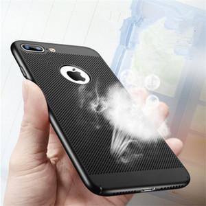 Kühlung handy shell hochwertige atmungs telefon case für iphone 6 6s 7 plus 5 5 s se weichen tpu case für iphone 6 6s 5 se 7 plus flip c