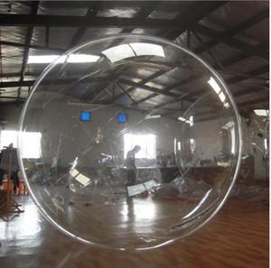 Satılık PVC Şişme Su Yürüyüş Topu İnsan Hamster Ball için sıcak berrak su yürüme topu şişme yüzen su havuzu topları