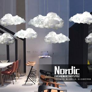 3 parça Stok Post-modern Yüzen Bulutlar Dekoratif Bulutlar Avizeler Restoran Aydınlatma Bar Sayacı Cafe Giyim Mağazası Dekoratif aydınlatabiliriz