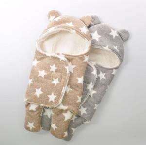 Retail Neugeborene Baby Winter Kinder Muster Kinderdecke Jungen / Mädchen tragen, Kinder Boutique Kleidung, R1bcs310-56-65, [Elevenstory_dh]