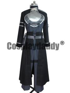 도예 온라인 2 Gun Gale Online GGO 코스프레 Kirito Kazuto Kirigaya 여성복 제복