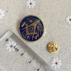 10шт Оптовая пользовательские сделать масонский отворот pin значки рабочие инструменты масон металлические ремесла кладка брошь и pin масонство